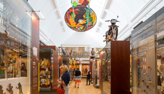 Horniman Museum World Cultures Gallery, 2018